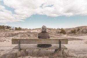 old woman, bench, desert-731423.jpg
