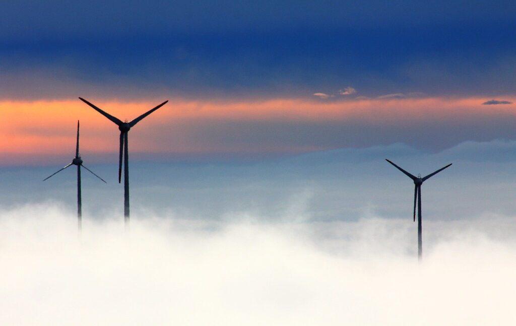 windmills, clouds, fog-1048981.jpg